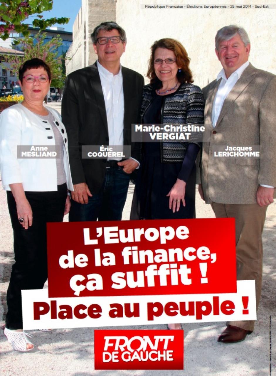La campagne des européennes